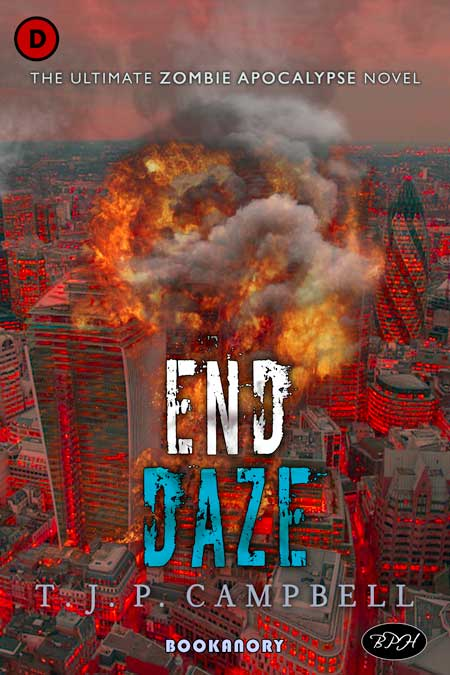 completed End Daze book cover