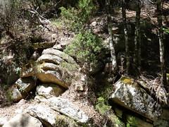 Redescente du Velacu : retour au pont hypothétique (autre extrémité)