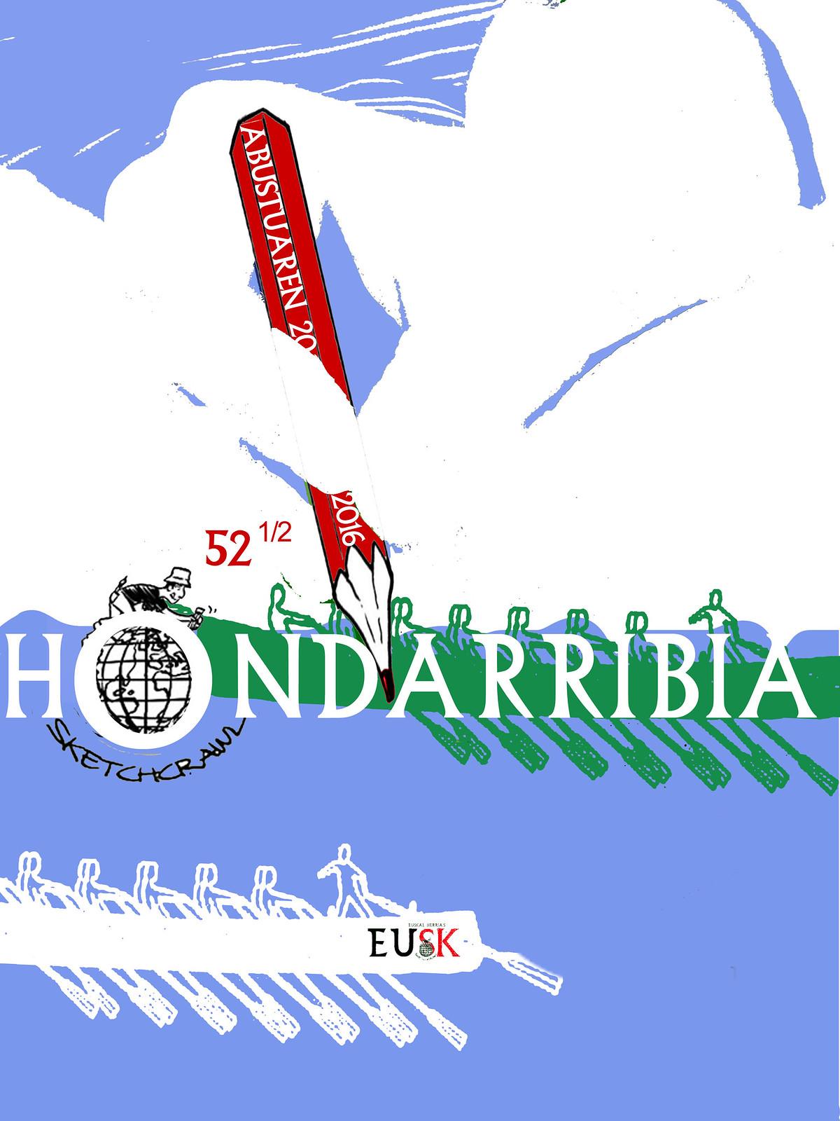 cartel hondarribia 52 1/2 SketchCrawl