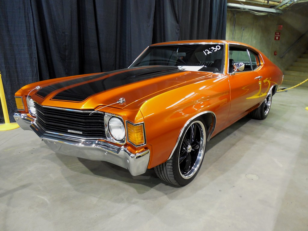 1972 Chevrolet Chevelle | Burnt Orange Automatic V8/350 ...