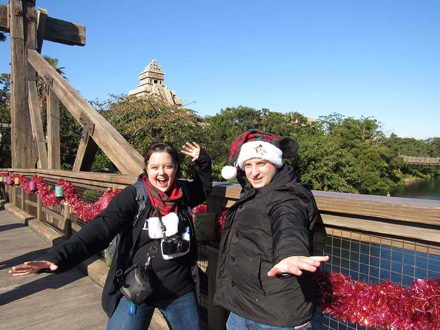 Me & David at DisneySea