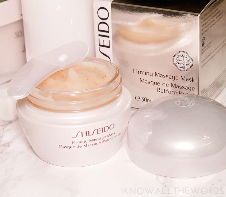 shiseido creamy cleansing emulsion and firming masage mask (4)