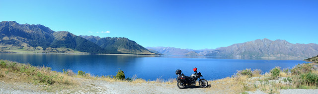 Lake Hawea pano