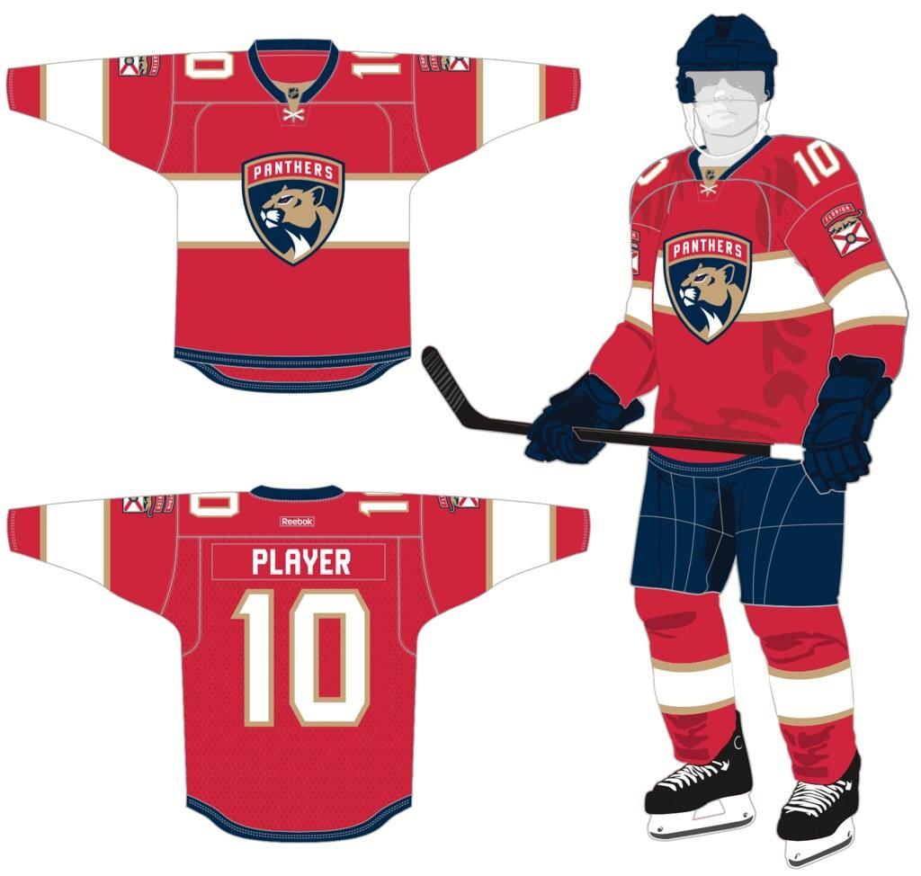 6e7950e80 NHL - Uni Watch breaks down the new uniform and logo the Florida ...