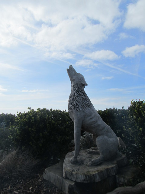 Uk Norfolk Old Hunstanton Statue Of Wolf Flickr