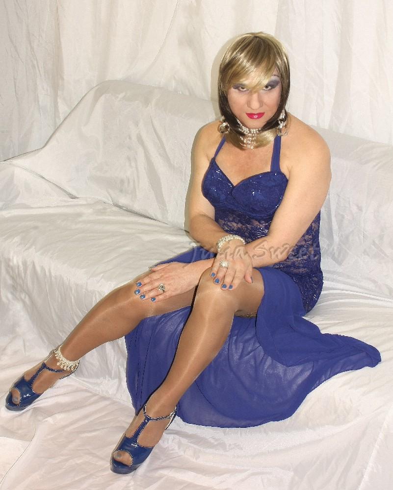 Lady In Blue 1