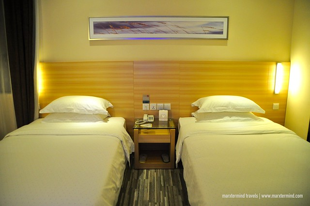 Twin Beds at Our Deluxe Twin Room City Comfort Hotel