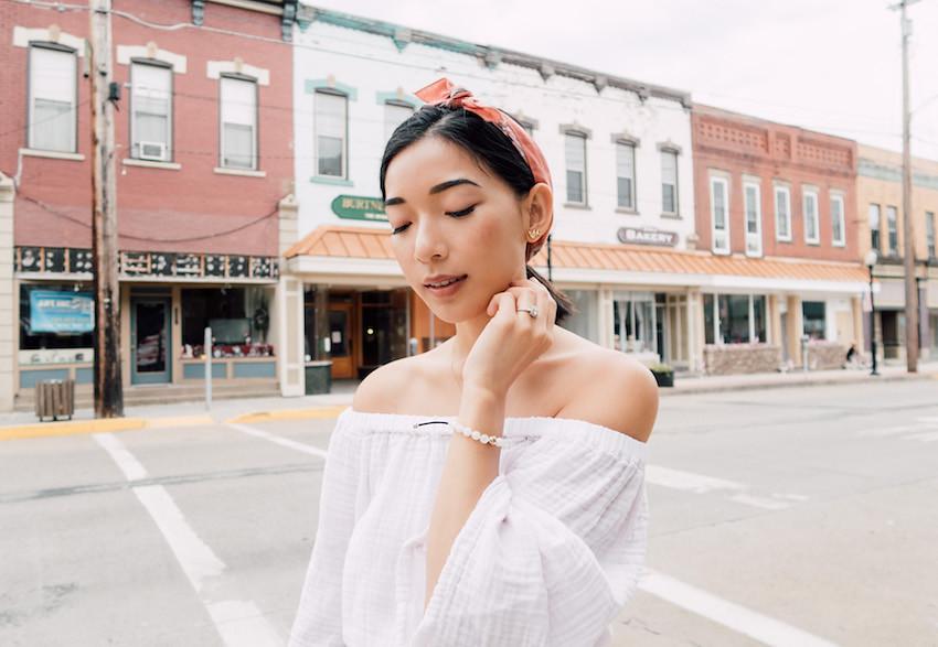 Casual Americana Look | HONEY & SILK