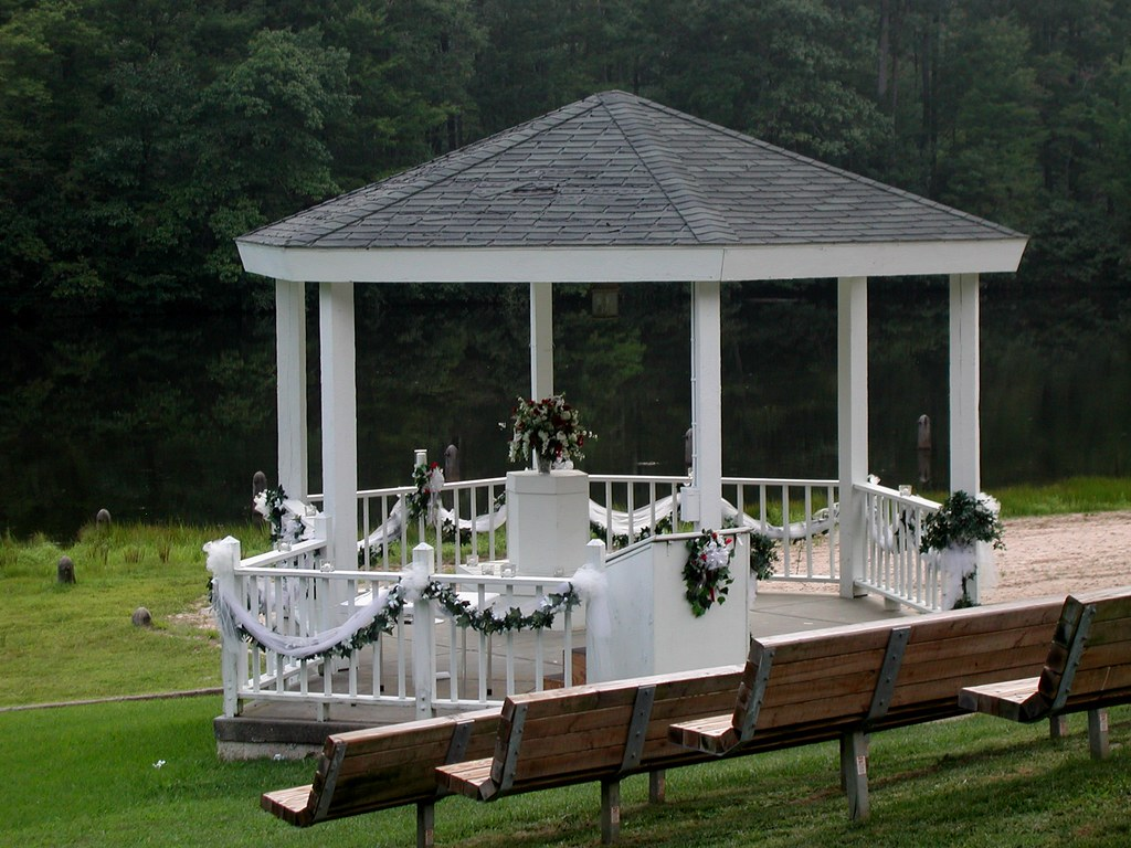 09 >> Wedding Gazebo at Twin Lakes State Park | It's perfect! A na… | Flickr