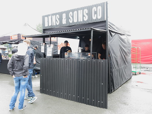 Buns & Sons Co. Stand (auf dem Street Food Festival in Osnabrück)