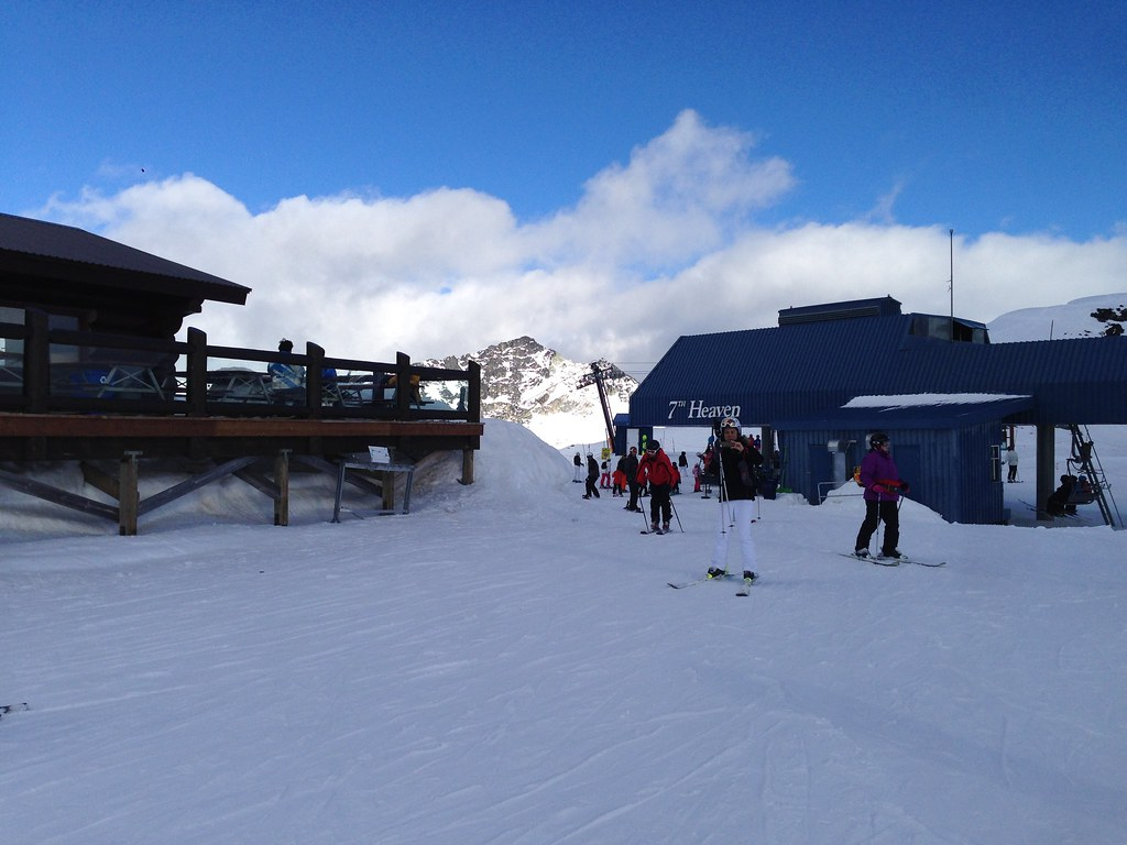 Horstman Hut at 7th Heaven