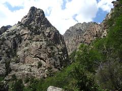 Punta 1441 et bas du ravin de Nura