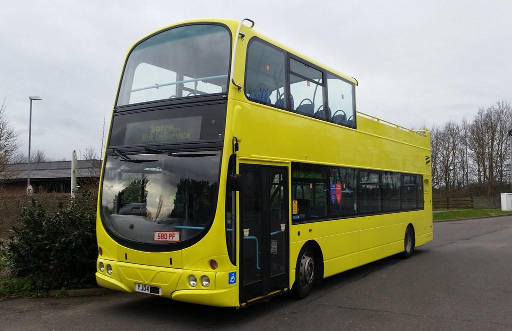 Yj04 Fzc Volvo B7tl Wright Eclipse Gemini Stagecoach