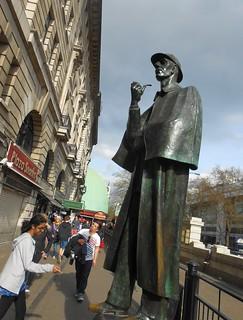 Sherlock Holmes on Baker Street