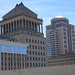 Saint Louis University Law School and Courthouses