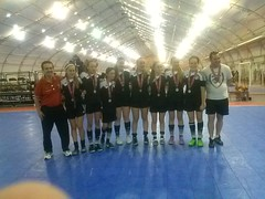 U14 Girls Finalist Regionals 2015