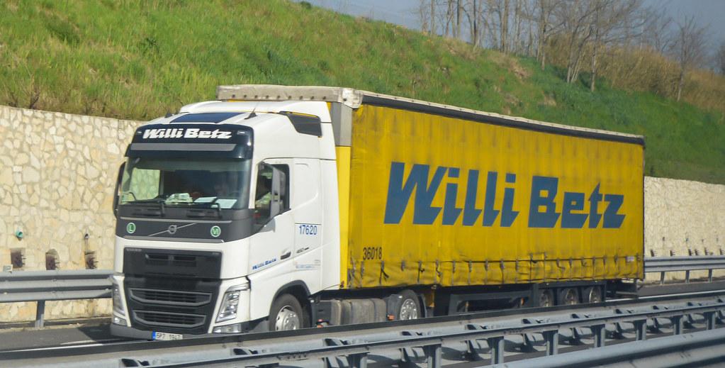 Volvo Fh 460 Gl4 Euro 6 Willi Betz A1 Autostrada Del