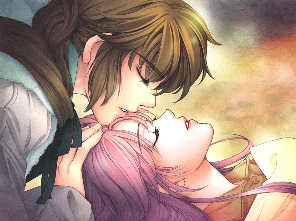 Anime Romance Kiss Scene Kiss Anime Romantic Scene