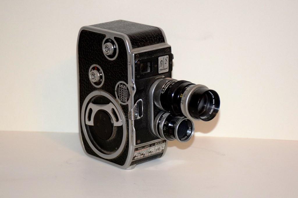 paillard bolex b8 8mm movie camera made in switzerland in flickr. Black Bedroom Furniture Sets. Home Design Ideas