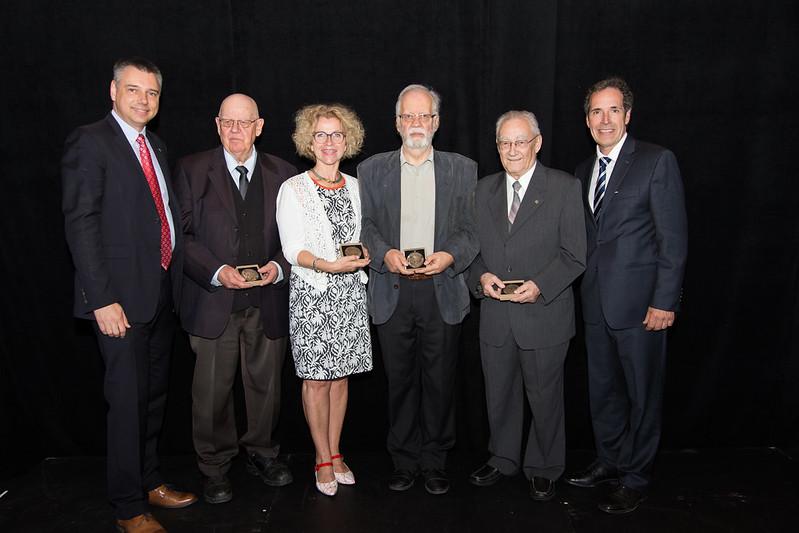 Lauréats 2016 de l'Ordre Victorien de Victoriaville