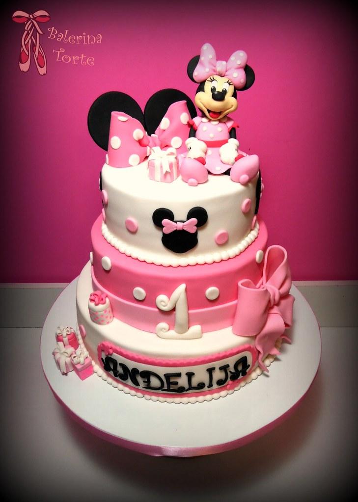 Minnie Mouse Cake Mini Maus Torta By Balerina Jagodina