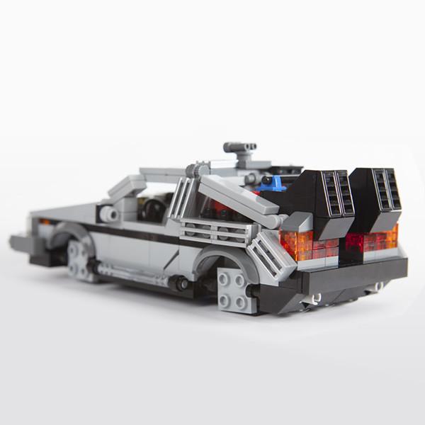 Lego Bttf Delorean Moc Lego Bttf Delorean Accessories