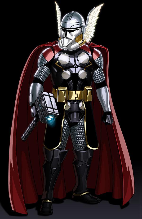 Avengers Clone Troopers Thor by JonBolerjack