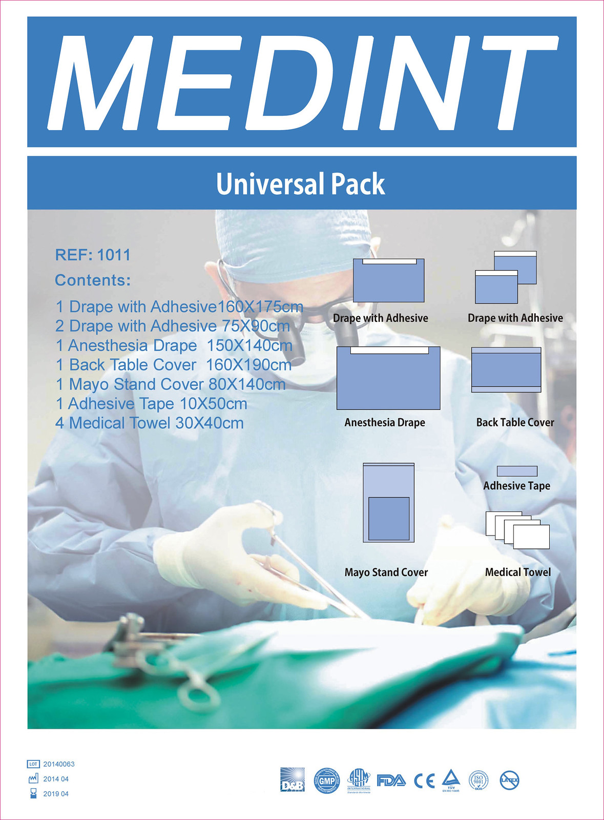 MEDINT Surgical Pack