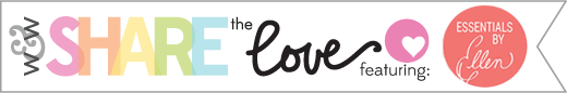 share the love graphic Essentials by Ellen 2
