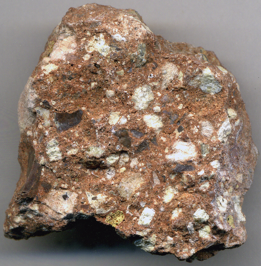 volcanic breccia igneous rocks form by the cooling