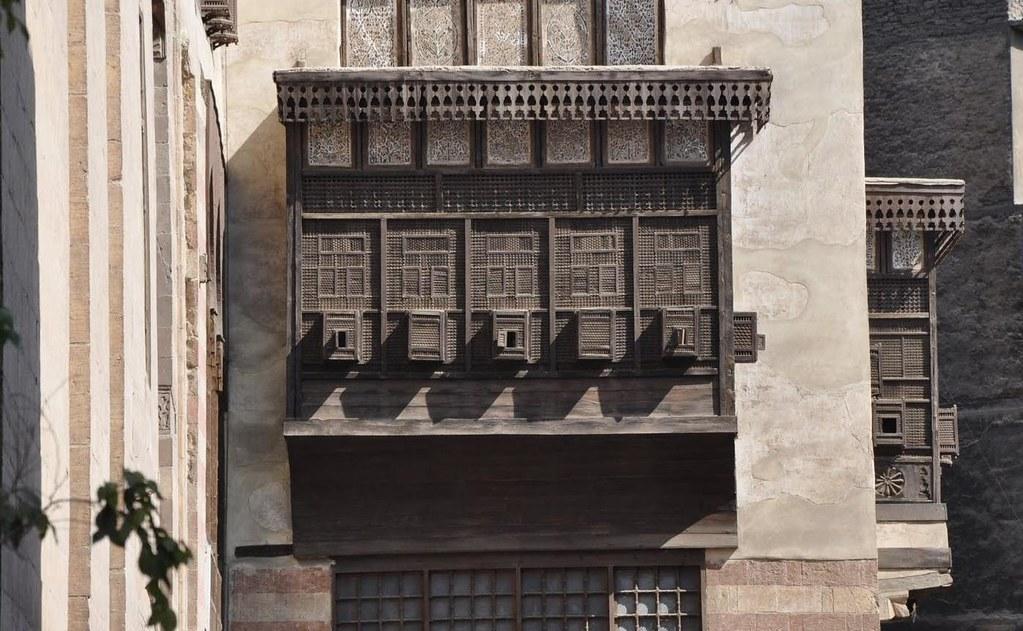 Mashrabiya Old Cairo Egypt Mashrabiya Or Shanasheel