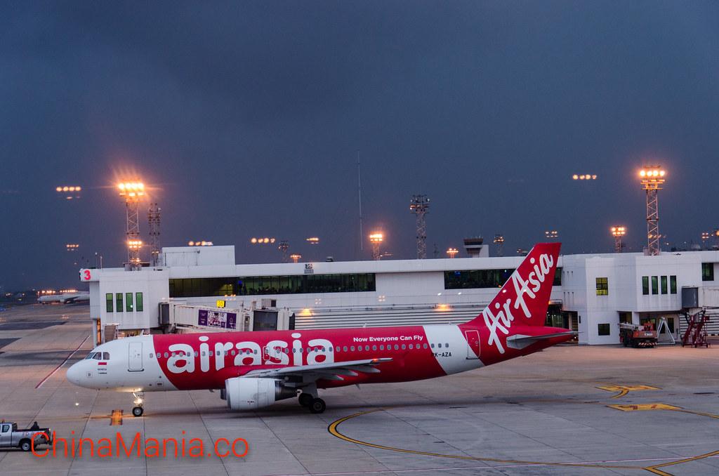 สายการบิน AirAsia กรุงเทพ-กว่างโจว