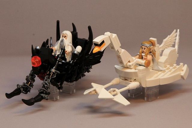 Saruman and Galadriel, by Chris Weight, on Flickr