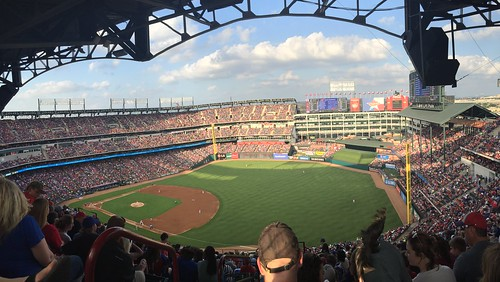 View from Globe Life Park