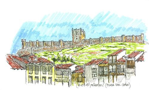Peñafiel (Valladolid). Castillo