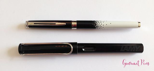 Review Waterman Hémisphère Ombres et Lumières Fountain Pen @AppelboomLaren (4)