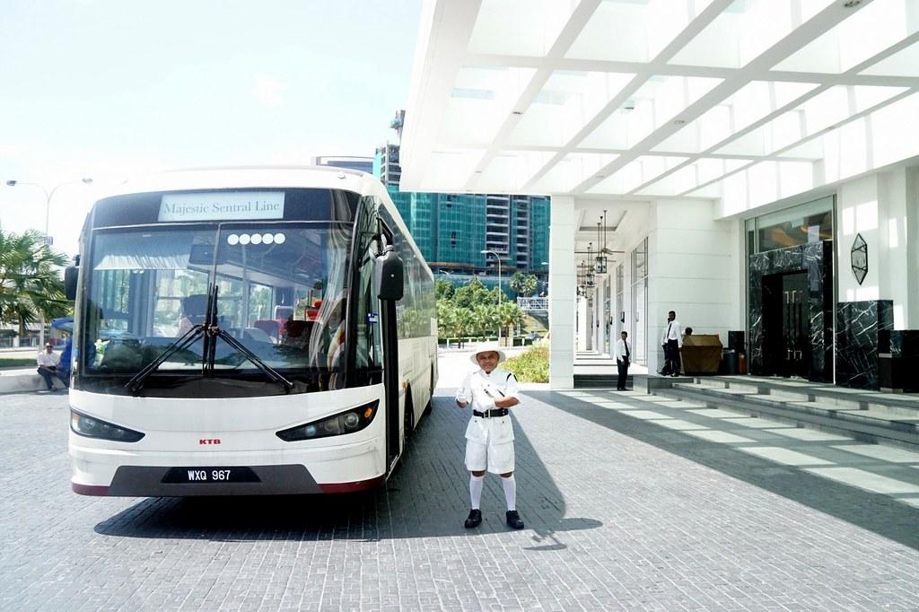 Majestic Hotel - shuttle - KL sentral