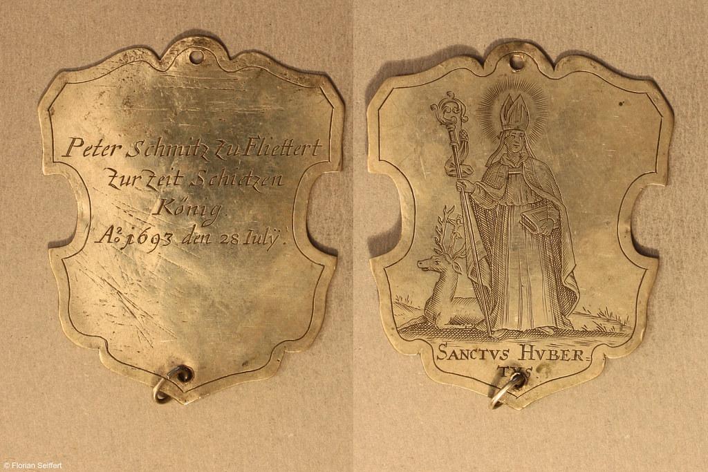 Koenigsschild Flittard von schmitz peter aus dem Jahr 1693