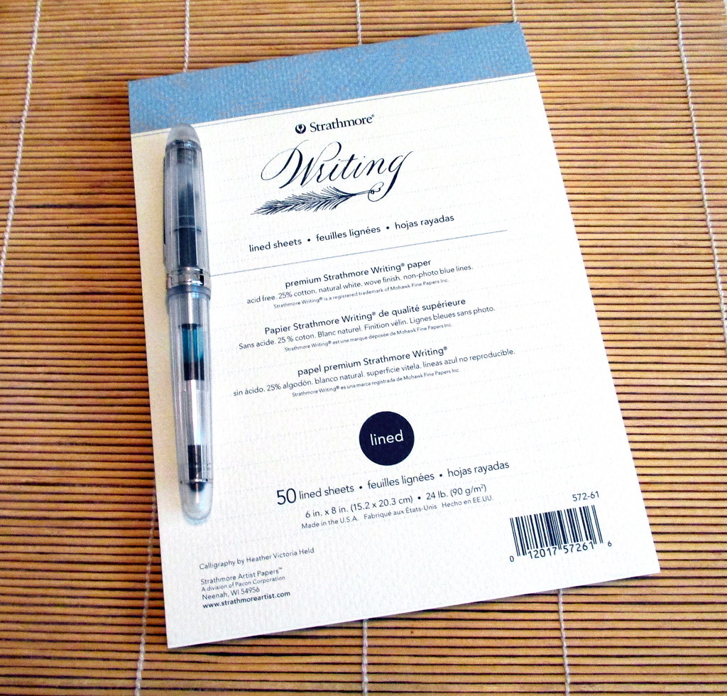 fountain pen paper an inkophile s blog writingreg paper is available in pads envelopes flat and folded cards as well as hardbound and softcover journals the soft white paper has a mildly