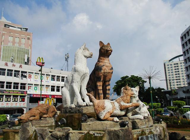 Kuching, the City of Cats