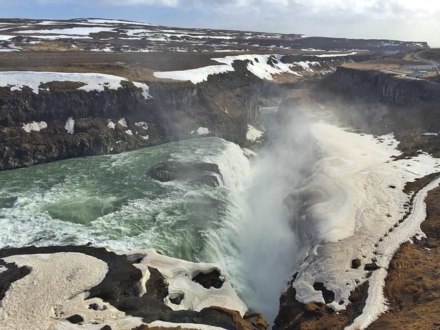 Gullfoss, la cascada más visitada de Islandia