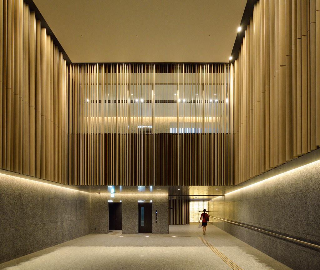Entrance space of brillia tower ikebukuro flickr for Design 8 hotel soest