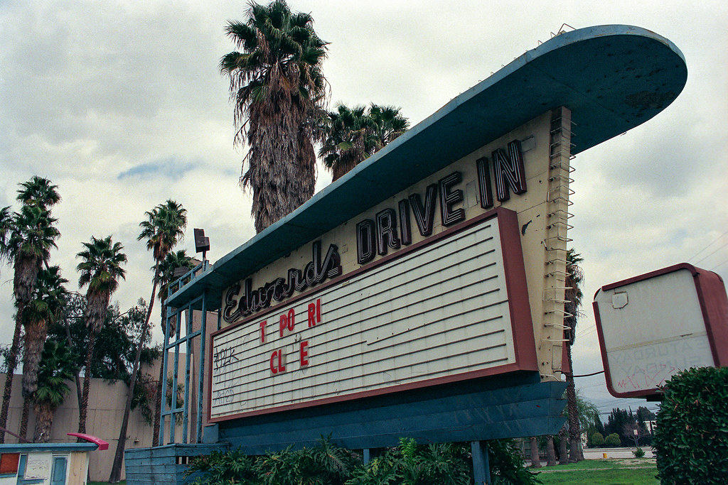 edwards drive in arcadia ca 1996 shot in 1996