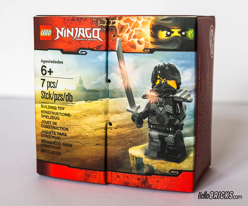 Lego Ninjago 5004393 Cole Exclusive