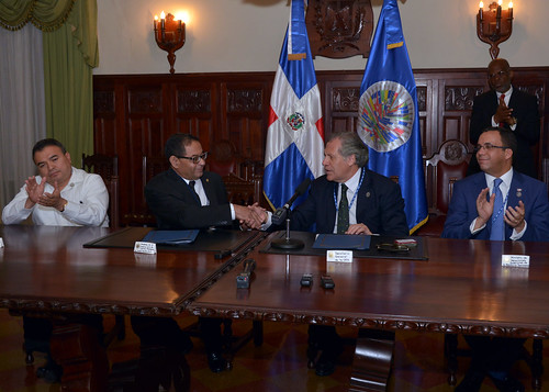 OAS and Dominican Republic agree to bolster the enforcement of environmental protection laws