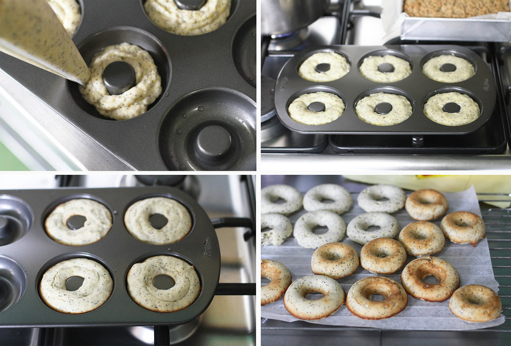28072080691 c70d3b570b b - Digging out these Baked Lemon Poppyseed Doughnuts from my archives