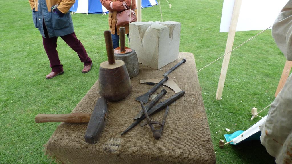 Tudors On Tour The Stone Mason S Tools Royal Progress