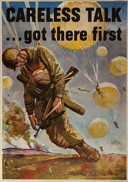 World War II Poster - Carless Talk