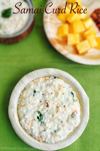 Samai Curd Rice