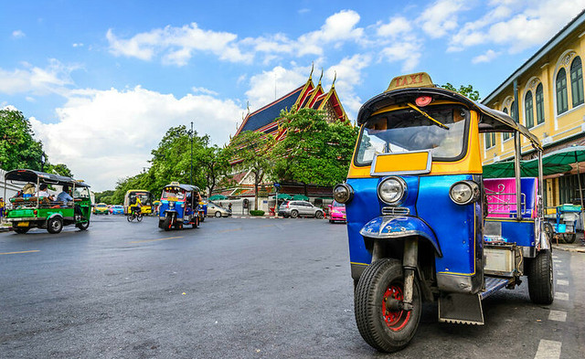 tuk-tuk-parked-side-of-street